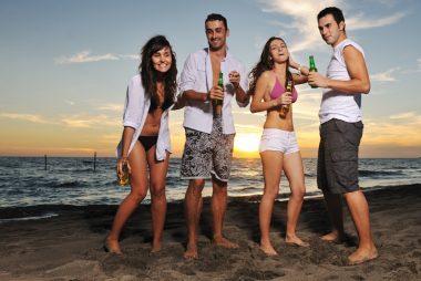 summer activities involving alcohol