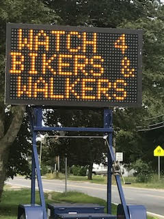 Bicycle and Pedestrian Accidents on Cape Cod yield sign to beware of summer bikers and walkers on Cape Cod.